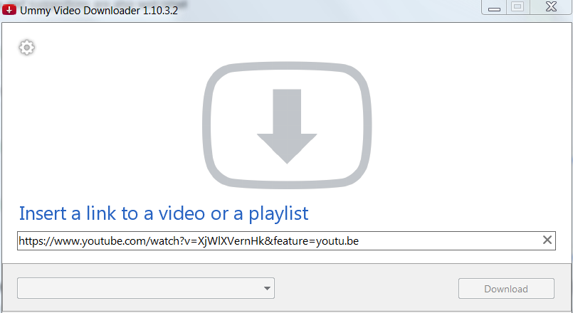 Youtube video cannot be processed by downloader  / Ummy